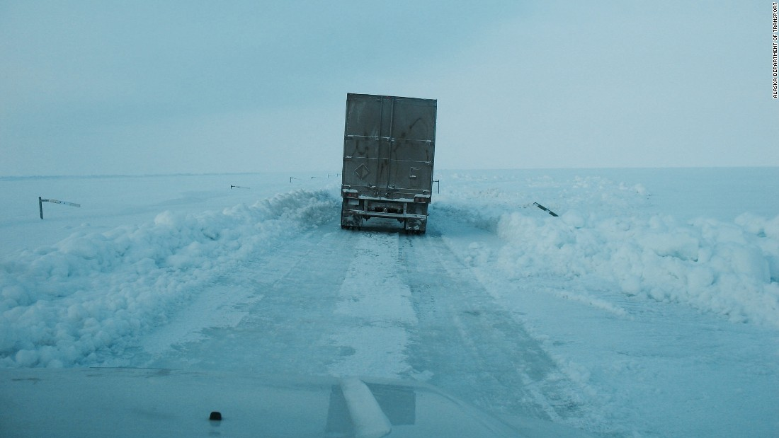 The Highway, most of which is in the Alaskan Tundra, is regarded as among the world's most dangerous roads.