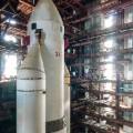 baikonur cosmodrome kazakhstan soviet space shuttle rocketfull width