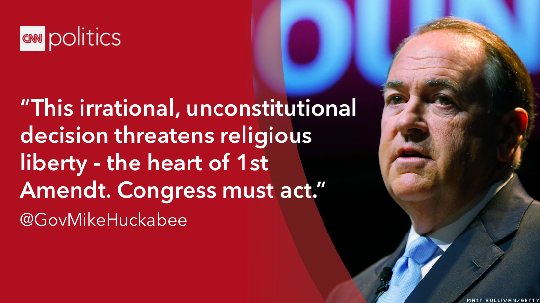 2016 scotus quote mike huckabee