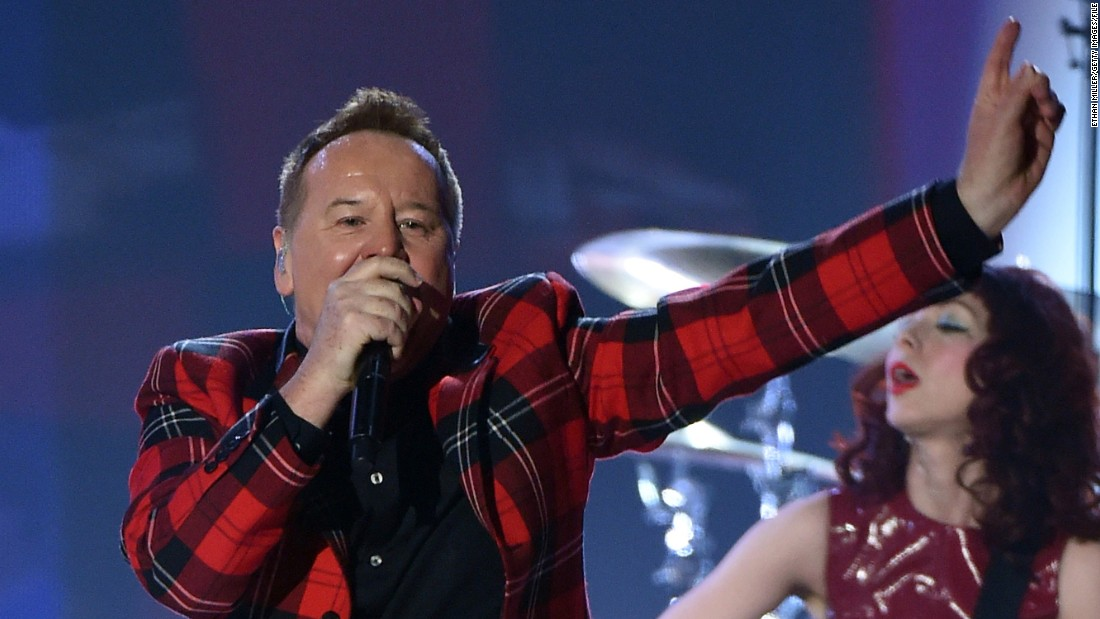 "Simple Minds is best known for the hit ""Don't You (Forget About Me"") from the 1985 film ""The Breakfast Club."" Now, the band peforms with just two <a href=""http://www.theguardian.com/music/2012/feb/23/simple-minds-rock"" target=""_blank"">original members, including lead singer Jim Kerr, here in 2015, and guitarist Charlie Burchill</a>. The group is still ""Alive and Kicking,"" <a href=""http://www.simpleminds.com/sm/index.php#3kBgPQ4ArMWijtr8.97"" target=""_blank"">touring this year and preparing to release its first new album in five years</a>."