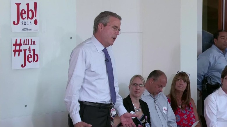Jeb Bush responds to the Confederate flag controversy