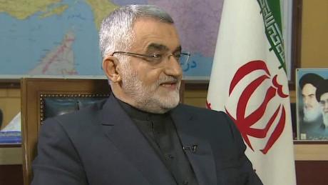 iran us nuclear deal boroujerdi pleitgen intv_00001716