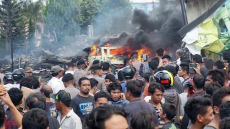 indonesia military plane crash quiano bpr_00022016