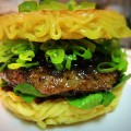 food mashups- ramen burger