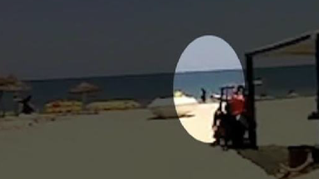 Amateur video shows horror of Tunisia attack