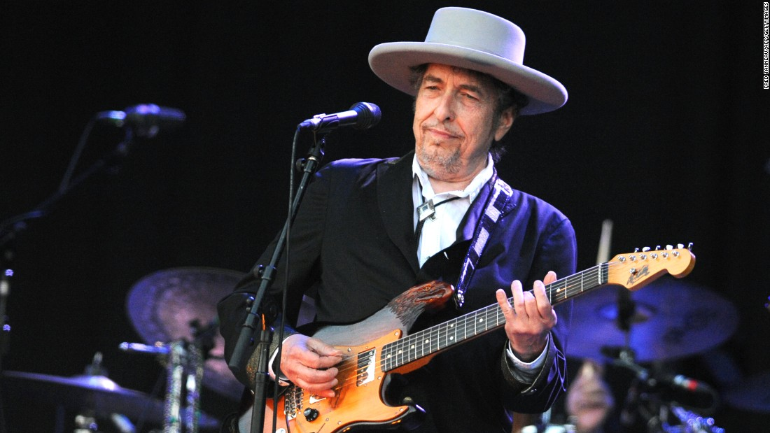 It was at Live Aid where Bob Dylan -- shown here in 2012 -- sparked the notion of Farm Aid, suggesting that performers raise money to save failing family farms in the United States. That same year, Dylan appeared at the first Farm Aid. In 1988, he co-founded the hit-making Traveling Wilburys with some of the biggest names in music. The prolific singer-songwriter continues to record and perform.