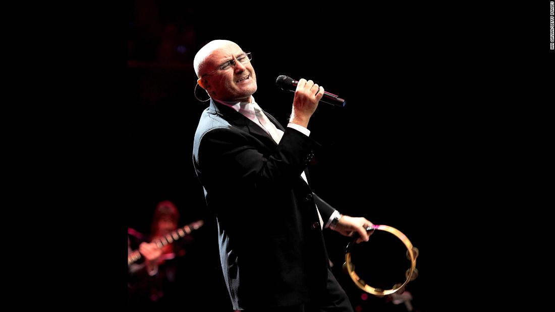 "Genesis singer Phil Collins generated buzz by performing at Live Aid in the UK and U.S. on the same day -- thanks to a trans-Atlantic flight on a supersonic Concorde airliner. Collins' hits have tapered off since the 1990s. This year, the singer<a href=""http://www.miamiherald.com/news/business/real-estate-news/article24633664.html"" target=""_blank""> reportedly</a> bought a $33 million Miami mansion that once belonged to Jennifer Lopez. Here he performs at the Prince's Trust Rock Gala in London in 2010."