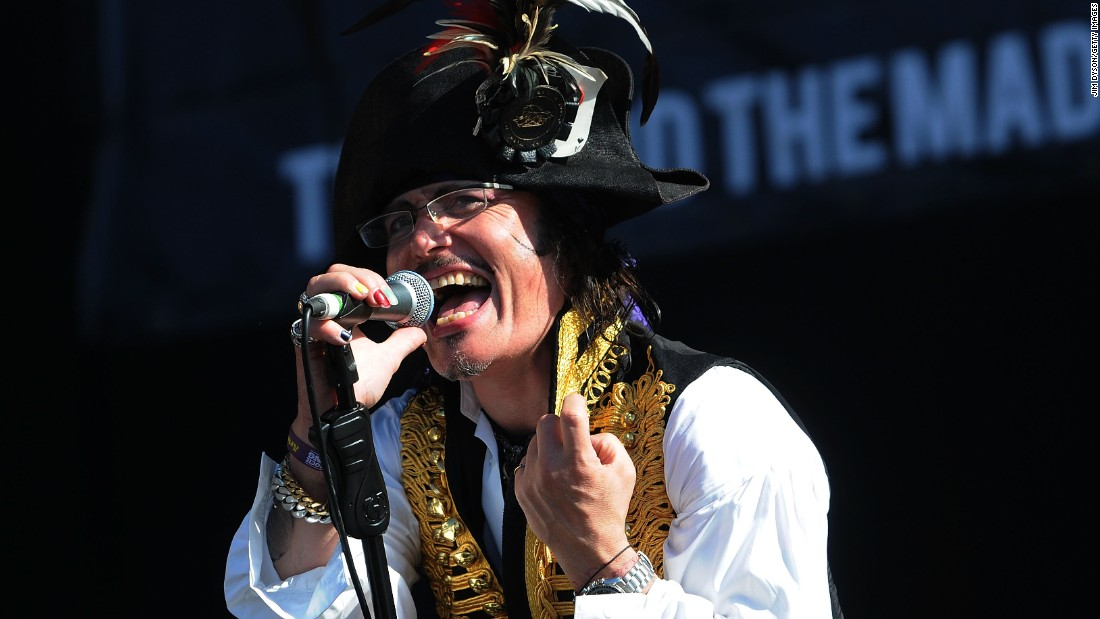 "Adam Ant's success cooled somewhat in the wake of Live Aid. During the 1980s and '90s, he <a href=""http://m.imdb.com/name/nm0001914/filmotype/actor?ref_=m_nmfm_2"" target=""_blank"">scored various roles</a> in TV and films. In 2012, <a href=""http://www.mirror.co.uk/lifestyle/going-out/music/adam-ant-interview-on-mental-health-1440253"" target=""_blank"">the singer, born Stuart Goddard, told The Mirror </a>he was launching a comeback after battling bipolar disorder. Lately he's been performing, <a href=""http://www.birminghammail.co.uk/whats-on/bring-back-top-pops-says-8914346"" target=""_blank"">while amusing the press with his opinions on digital technology and the recording industry</a>. <br />"