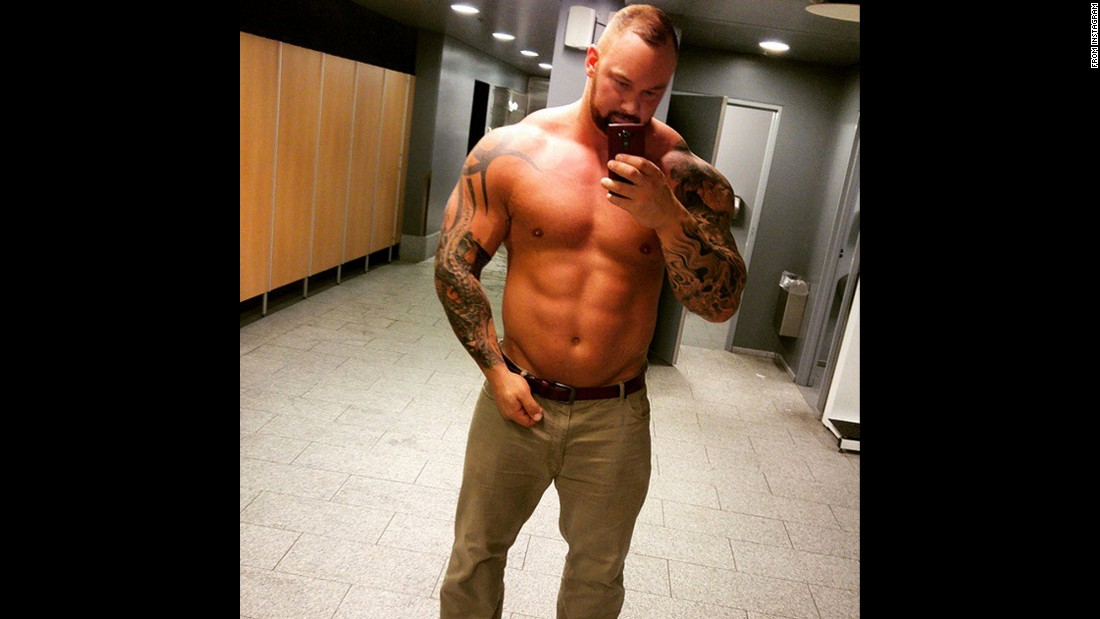 "Actor and strongman competitor Hafthor Julius Bjornsson shows his ""shape of the day"" <a href=""https://instagram.com/p/4iKT3gALpU/"" target=""_blank"">in an Instagram post</a> on Monday, June 29. He wrote, ""173kg and still growing."" That's 381 pounds for the man who plays ""The Mountain"" on ""Game of Thrones."""