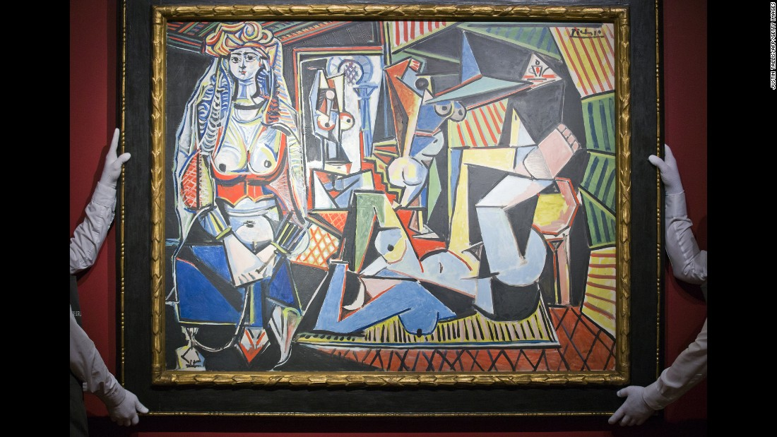 "When Pablo Picasso's ""Les Femmes d'Alger (Version O)"" sold for $179,365,000, it broke the world auction record for any work of art, according to Christie's."