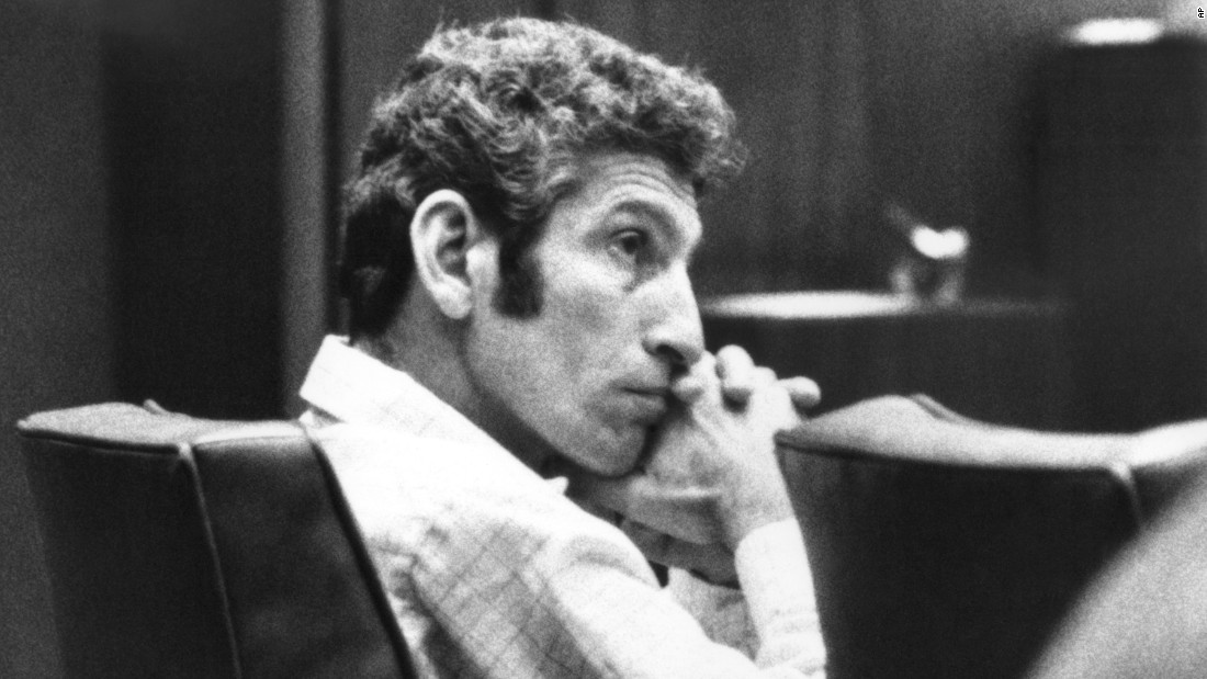 "Between 1977 and 1978, the naked bodies of nine women were found on the sides of various roads in the hills of California. The police attributed the murders to ""the Hillside Strangler,"" who turned out to be a pair of killers --  Angelo Buono, pictured, and his cousin Kenneth Bianchi. On CNN's ""The Seventies,"" author James Alan Fox notes ""we've seen this time and time again --- pairs of killers who urge each other on, and together they are extremely vicious and violent."""