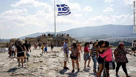 Travel operators in Greece say short-term bookings have been hit.