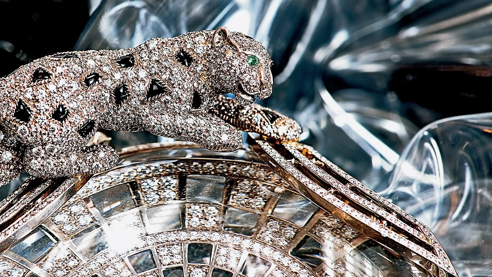 The opulent allure of Cartier's bejeweled panther