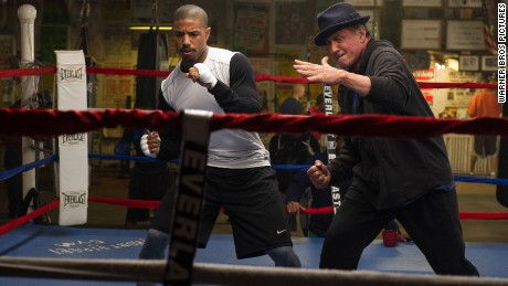 "Michael B. Jordan and Sylvester Stallone star in November's ""Creed."""