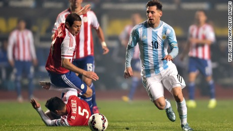 Messi's magic leaves a trail of Paraguayan devastation in his wake