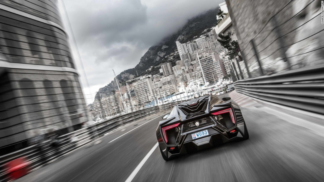 aggressive performance stats match the cars looks its 37 litre - W Motors Supersport Limited Edition
