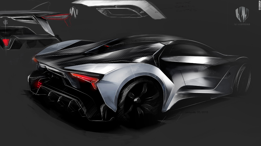 W Motors The World 39 S First Arab Supercar Manufacturer Cnn