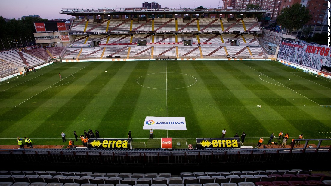 Estadio de Vallecas is the home of Rayo Vallecano. Located southeast of the city center, it has a capacity of just under 15,000 but has played host to the likes of Lionel Messi's Barcelona and Cristiano Ronaldo's Real Madrid.