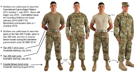 from Ibrahim national guard class a uniform