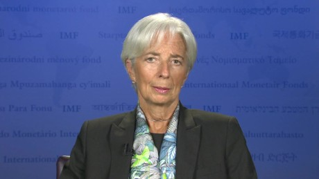 Lagarde: Balance is key moving forward with Greek recovery.