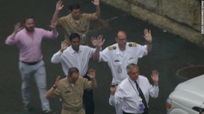 Security scare at Washington Navy Yard
