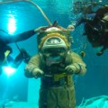 Baikonur Cosmodrome Starcity Tours underwater