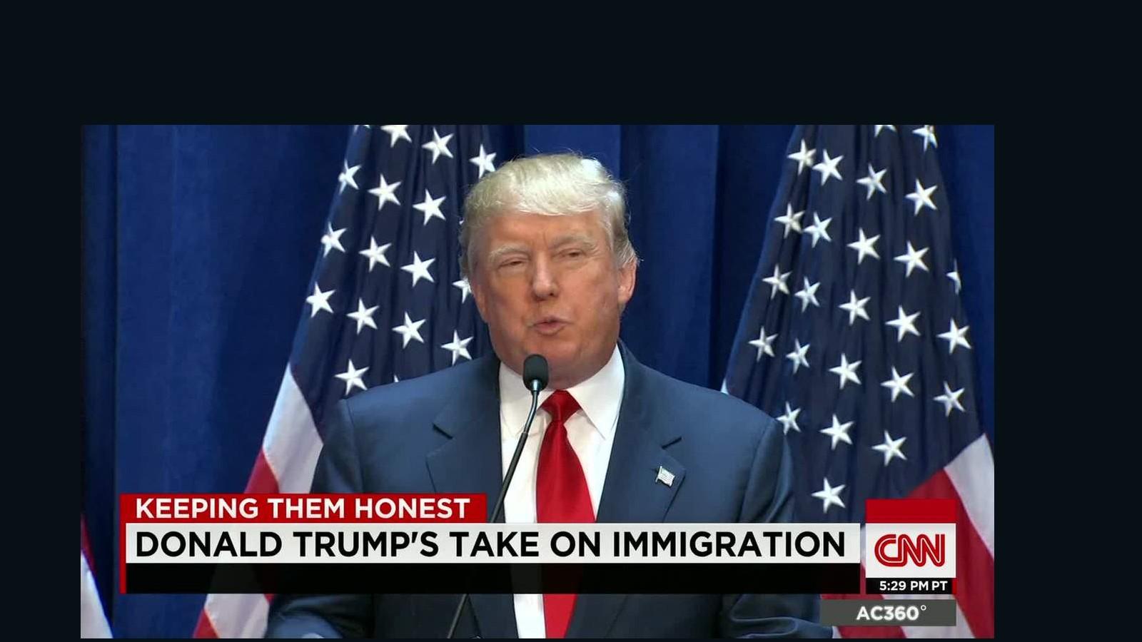 Resultado de imagem para trump immigrant