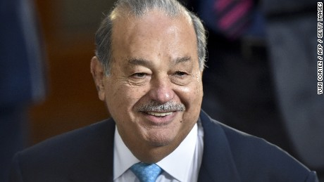 Mexican telecoms magnate Carlos Slim is currently the second richest man in the world. (He swaps places with Gates from time to time.) With an estimated fortune of $77.1 billion, he would have plenty of cash to bail Greece out if he wanted to.