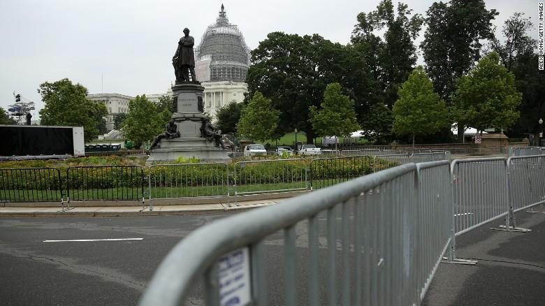 Unprecedented July 4th security amid terror threat