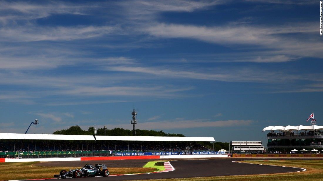 Mercedes were at it again Friday in practice at the British Grand Prix, as Rosberg set the pace, though Hamilton was only fourth fastest, with the Briton complaining about his car.