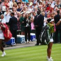 Serena walk off