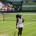 Serena match point