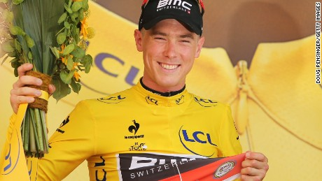 Australia's Rohan Dennis is the first man to don the yellow jersey in the 2015 Tour de France.
