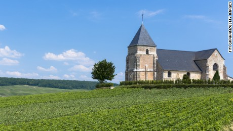 12th century church of Chavot in the Champagne-Ardenne region.