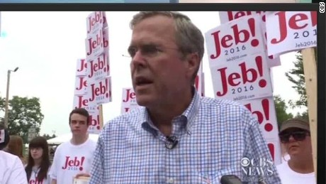 jeb bush donald trump comments wrong sot serfaty newday_00002004