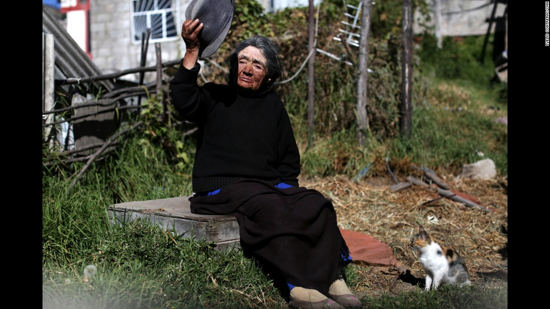Mary Torres' neighbors who need someone to look after them get visits from her in Pisuli.