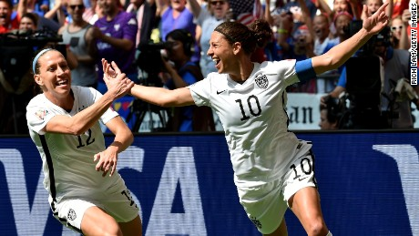 Carli Lloyd: We just made history