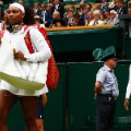 Serena Venus walk on