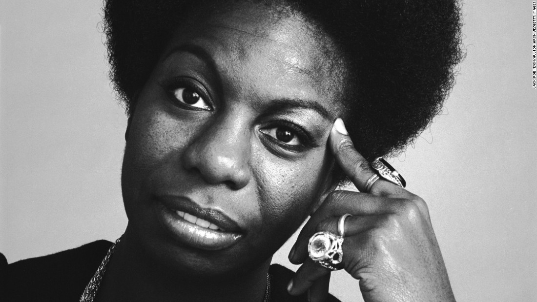"Jazz icon and civil rights activist Nina Simone, pictured here in 1969, is the subject of the new Netflix documentary ""What Happened, Miss Simone?"" The legendary singer's deep, raspy voice made her a unique figure in jazz. She died in 2003 at age 70."