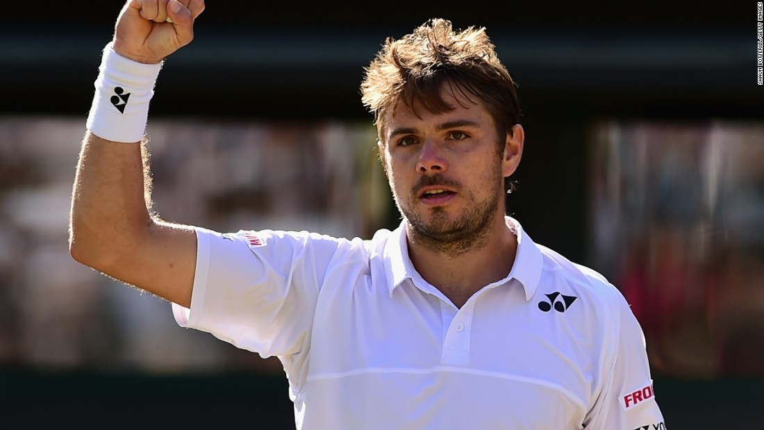 Could Stan Wawrinka complete the French Open-Wimbledon double? No one is counting him out. Wawrinka is one of those who hasn't dropped a set, either. He dispatched David Goffin on Monday.