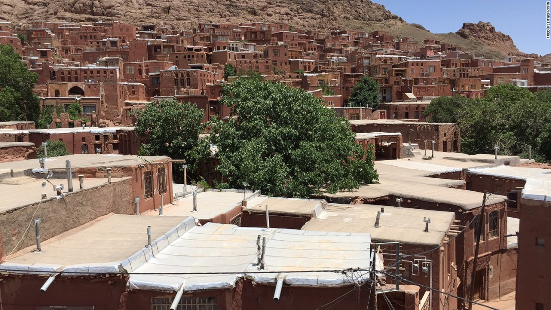 "Abyaneh's culture of ""live and let live"" developed over the centuries, where the village was subjected to a lot of change but always maintained its core identity."