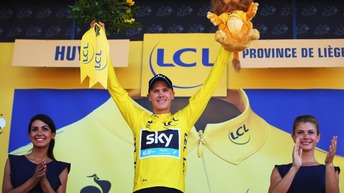 Froome and his Team Sky squad took control of the race during the first week and he was in yellow as early as the third stage, briefly giving it up to Tony Martin before regaining it for good.