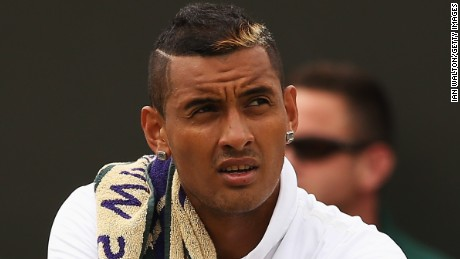 Nick Kyrgios can't stay away from the headlines