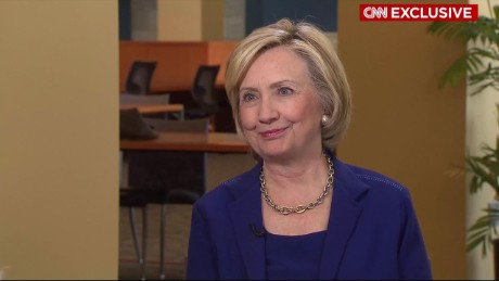 Hillary Clinton exclusive CNN interview in under four minutes _00000000