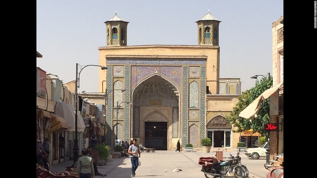 The Vakil Mosque was built between 1751 and 1773 during the Zand dynasty.