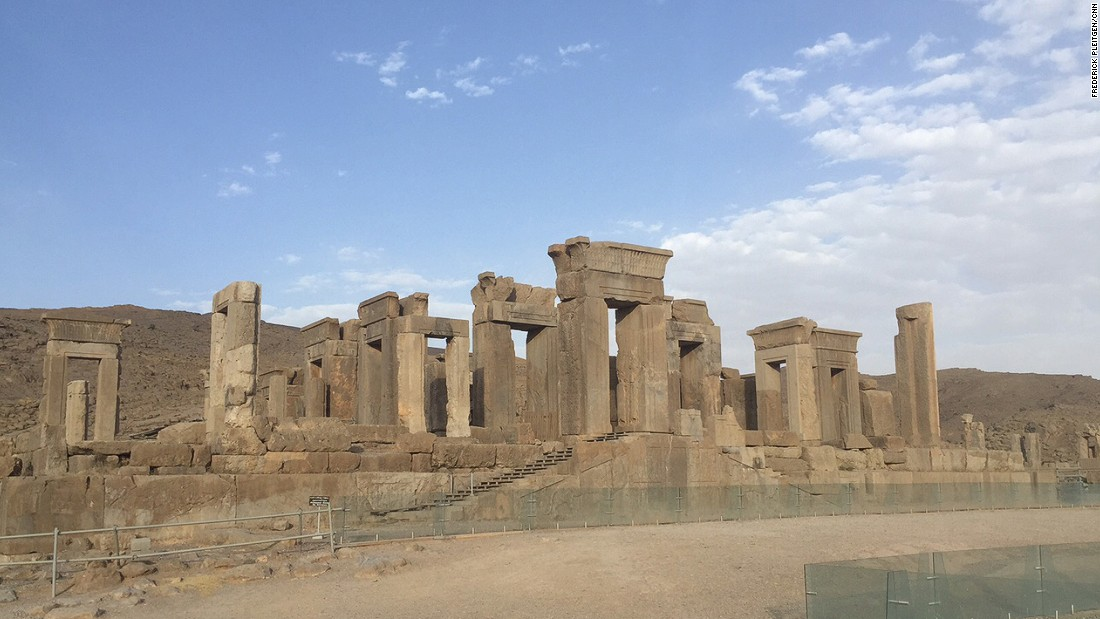 The Persepolis Temple of Light -- the Palace of Darius I -- was used as private quarters by the emperor. It was known as the palace of light because the walls were so bright and polished that it illuminated everything inside.