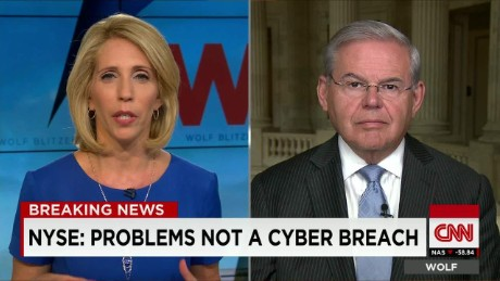 exp Dana Bash speaks with Sen. Robert Menendez about cybersecurity and Iranian nuclear talks _00002001