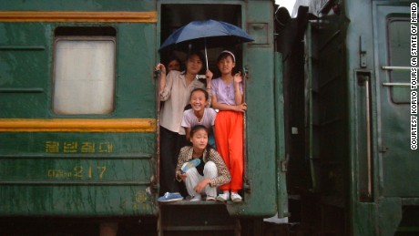 Touring North Korea via train
