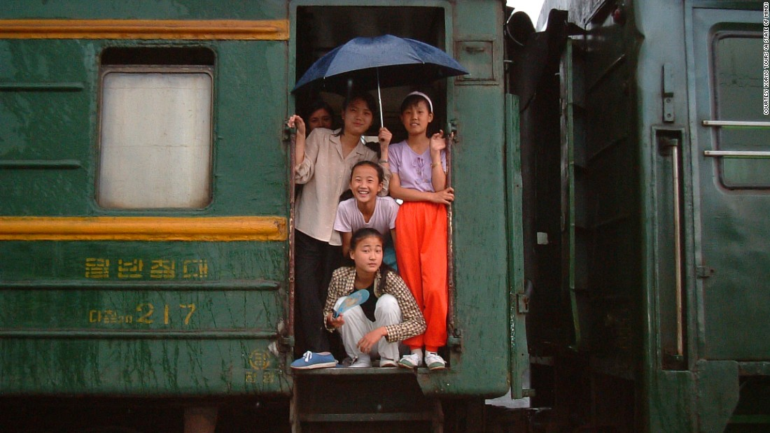 Koryo Tours says it took several years of repeated requests before the North Korean government would grant it permission to run train tours within the country. Previously, foreigners were only allowed to ride the international train service between China and Pyongyang.
