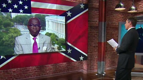 South Carolina Confederate flag removal Pinckney cousin reaction interview Newday _00033127